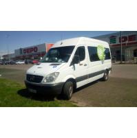 VanHireRiga.TK Rents a Van in Riga - MB SPRINTER F-I-T for Disabled