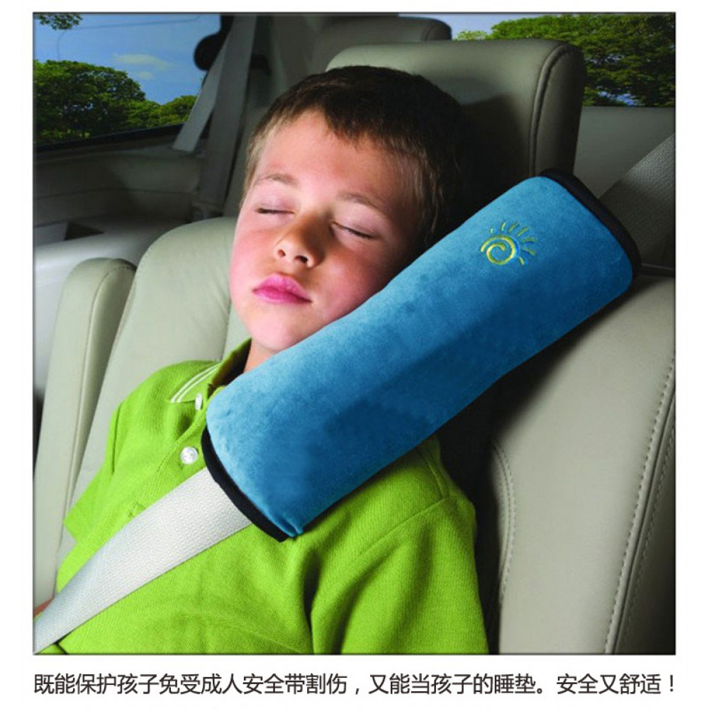 Car Seat Belt Shoulder Cushion Pad - Children Protection Support Pillow