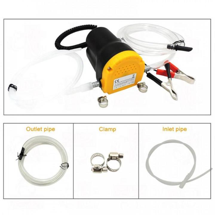 Oil Change Flowing 12V 60W Pump Kit