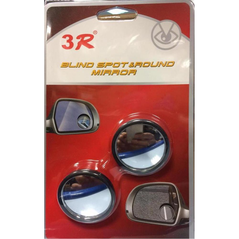 Blind spot & round mirror