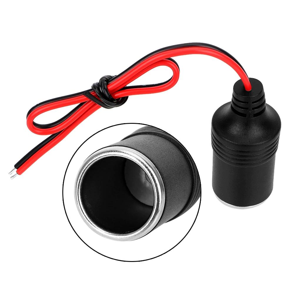 Round motorcylce, quad, boat smoking 12V  / 24V socket - car device lighter connector