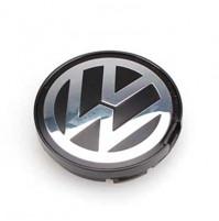 Riteņa rumbas vāciņš ar Volkswagen logo, diametrs 65 mm