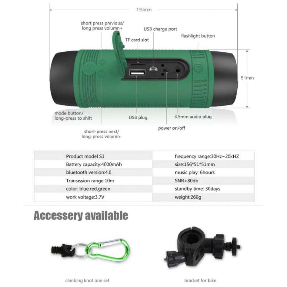 Zealot S1 Bluetooth Speaker