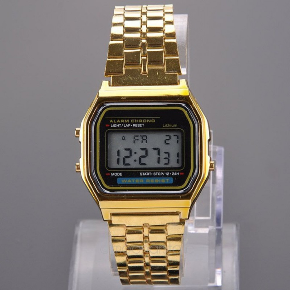 Digital watches from disco 80-ties