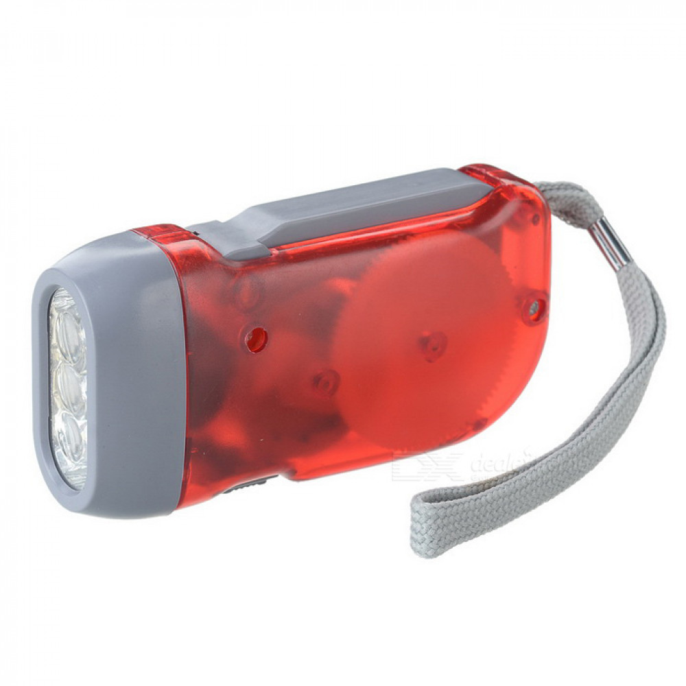 3 LED Flashlight Dynamo