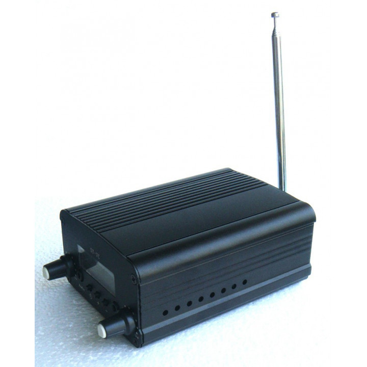 1W/7W FM broadcast transmitter radio station audio converter built-in PLL frequency + Small antenna