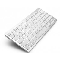 Wireless alluminium bluetooth keyboard in Apple style