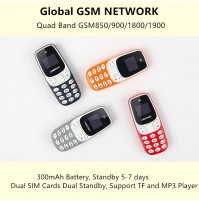 Cheap Tiny Mini Phone with 2 x SIM cards L8Star BM10 - world's smallest micro nano mobile phone