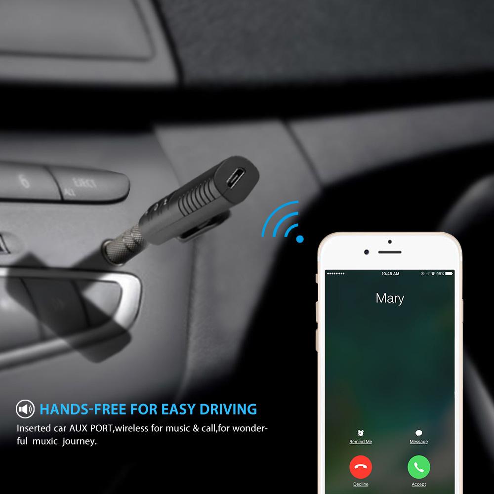 Bluetooth 4.1 Hands Free sistem with FM modulator