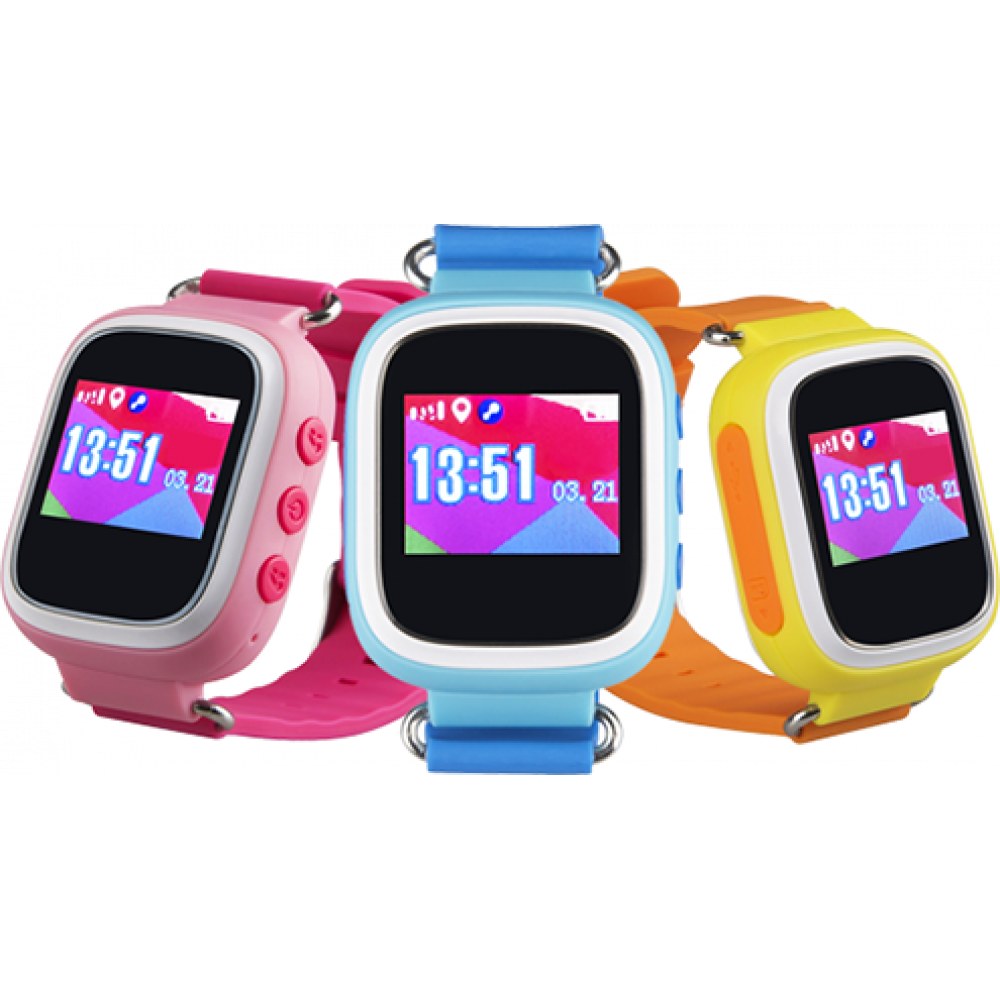 Smart Touchscreen Watch Kids Tracker Baby Q80 with GPS