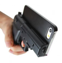 iPhone 5/5s/6 case gun
