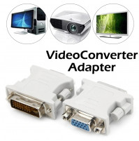 DVI DVI-I male to VGA female adapter cable