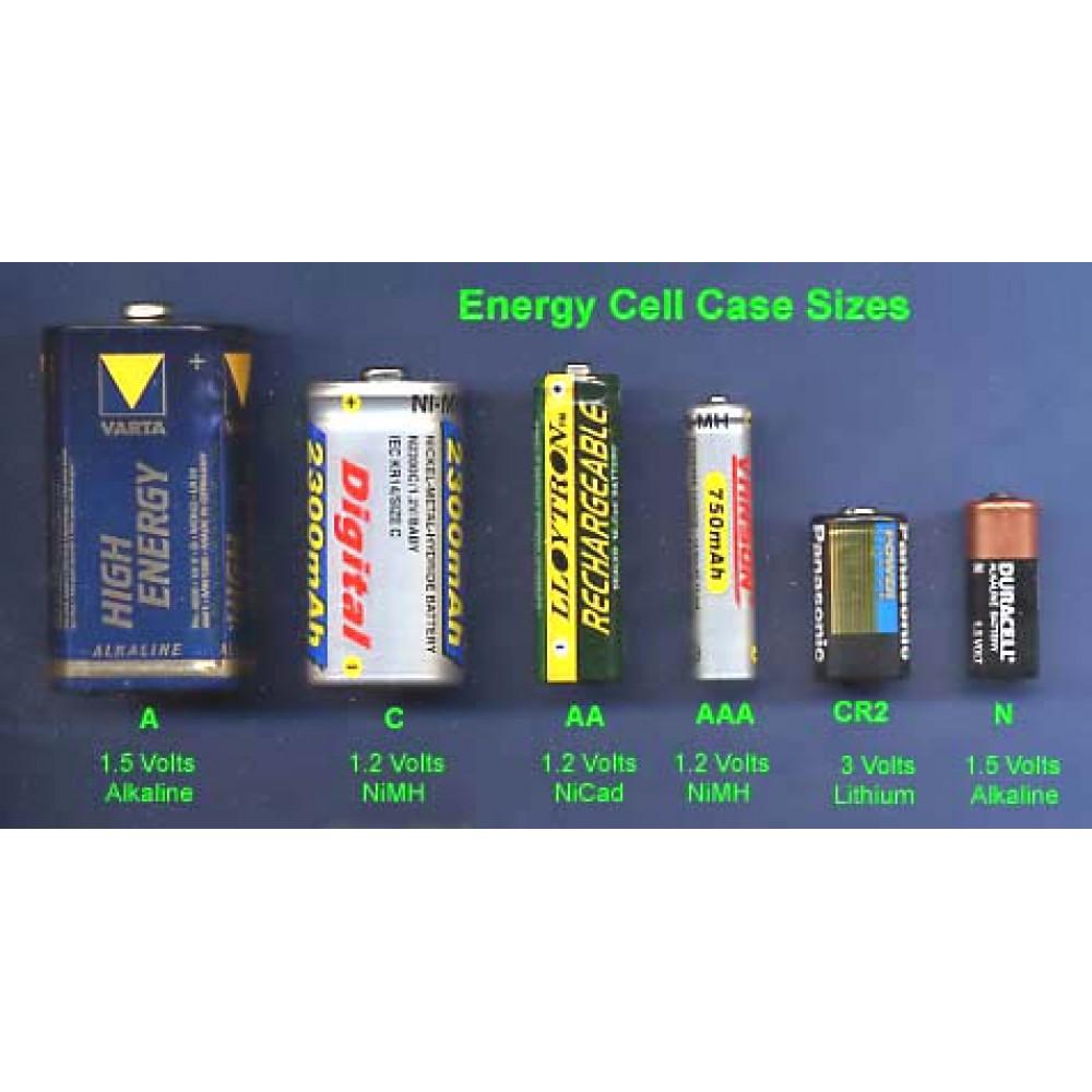 AA/AAA energie cells, 3 pcs