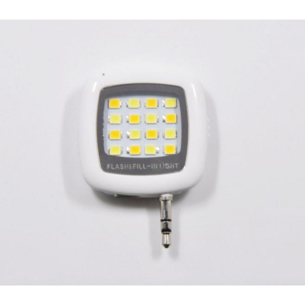 Spilgts LED apgaismojums fotogrāfēšanai no viedtālruiņa