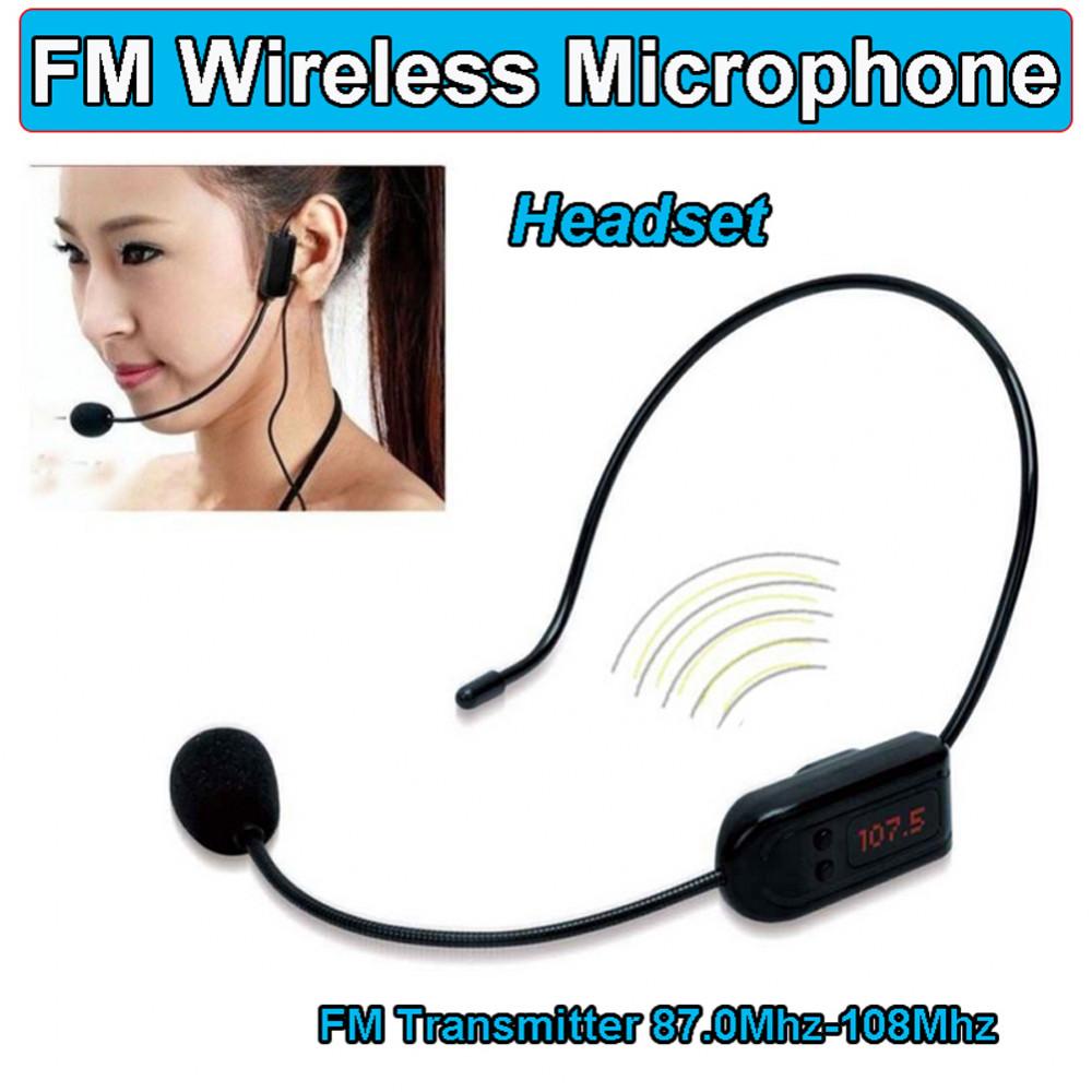 Bezvadu kondensatora UHF radio mikrofons skolotājiem, konferencēm, sanāksmēm, - bezvadu UHF mikrofona sistēma