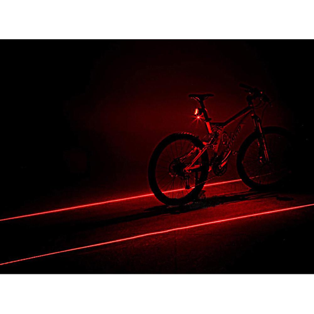 Bicycle safe flash led lamp