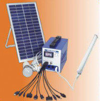 Portable Photovoltaic Solar Power System for Home 6W