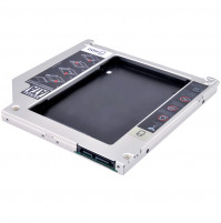 "CD-DVD ROM to SATA SSD adapter  - DVD SATA 2.5"" HDD Caddy"