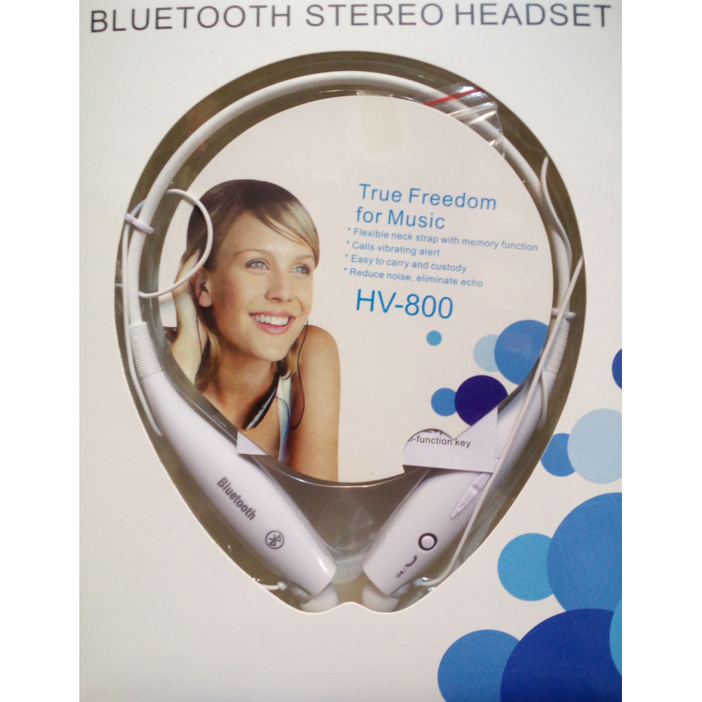 bluetooth stereo headset for sports