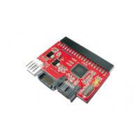 IDE-SATA/SATA-IDE adapteris