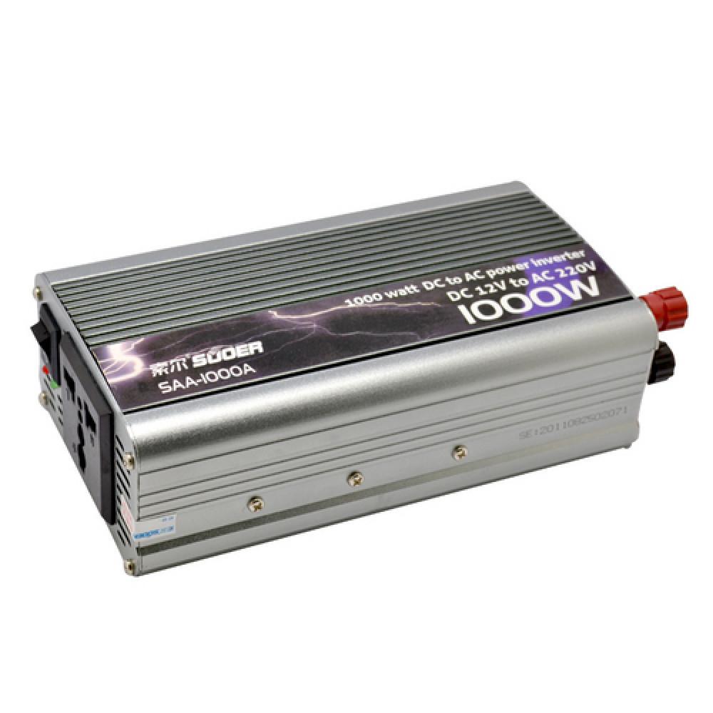 Auto invertor 12-220V, 1000w