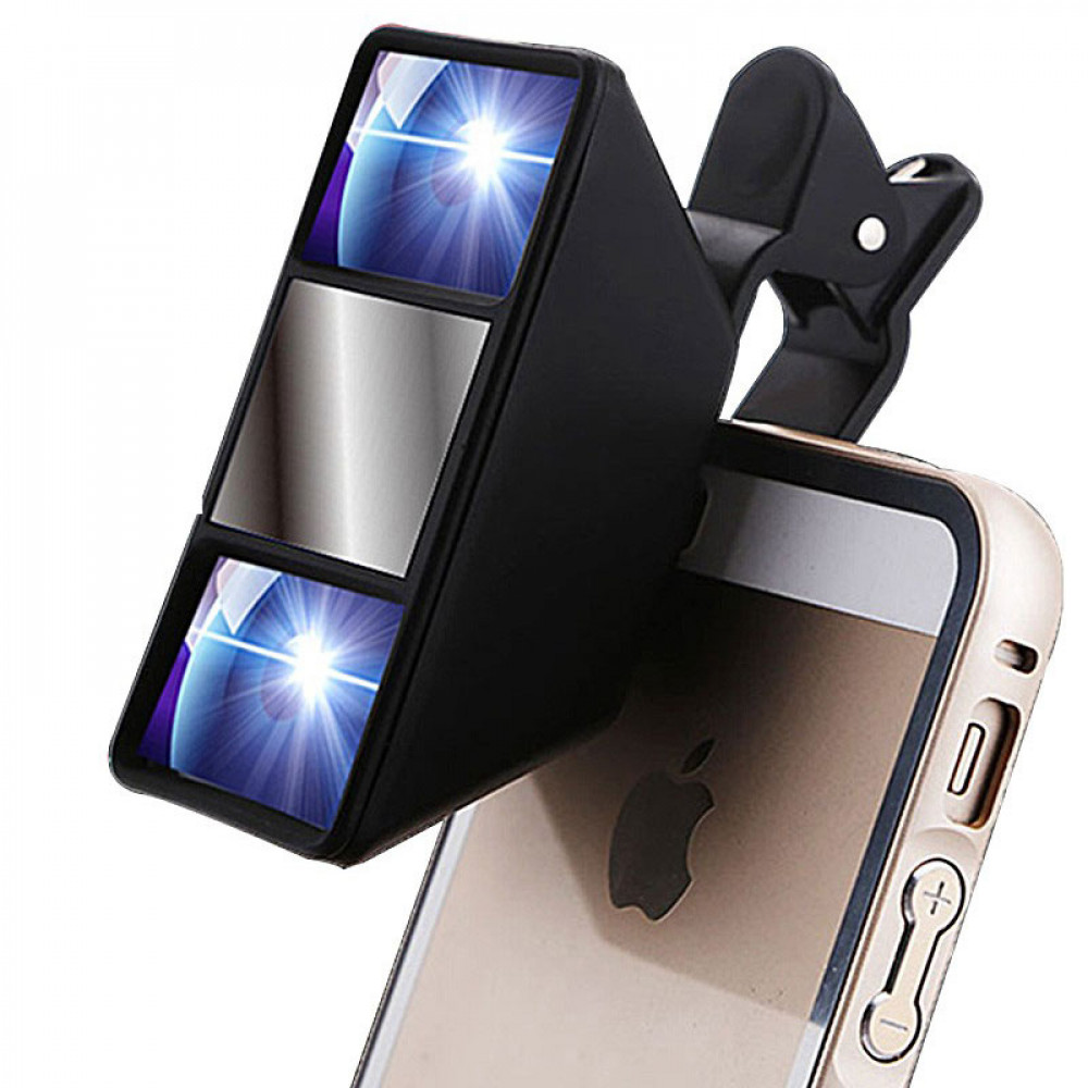 3D objective for smartphones
