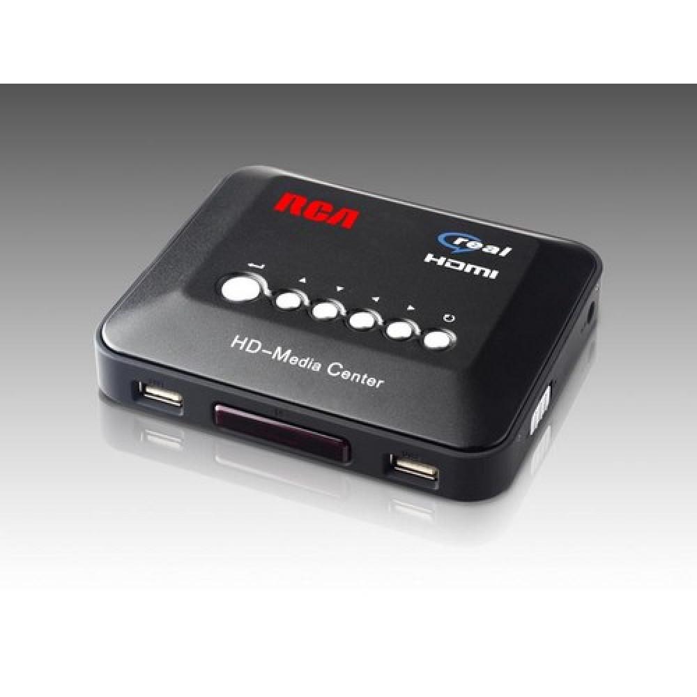 1Set 720p HD Media Center RM/RMVB/AVI/MPEG HDD TV Player with USB and SD/MMC Port