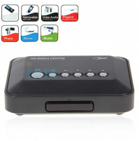 1Set 720p HD Media Center RM/RMVB/AVI/MPEG HDD TV Player with USB and SD/MMC Port