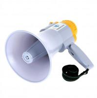 Мощный громкоговоритель мегафон рупор 25 Вт для озвучания мероприятий