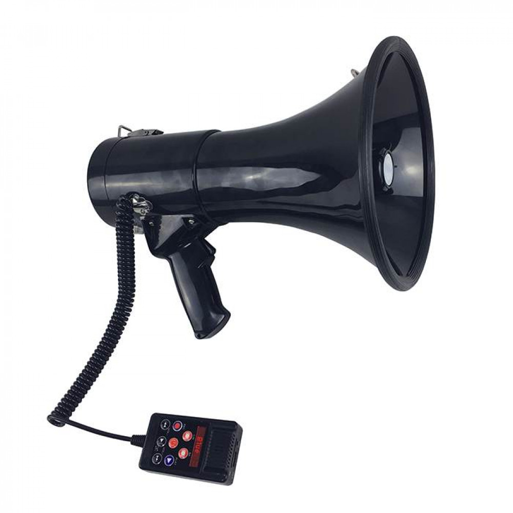 Professional very loud rupor - Megaphone of an American Policeman MEGAPHONE MP 50W with mp3 payer