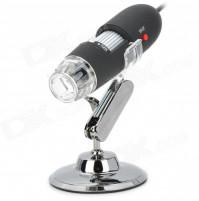 USB-mikroskops 25-200 x