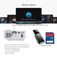 FULL HD BYINTEK SKY BT140 WIFI Android video projektora noma