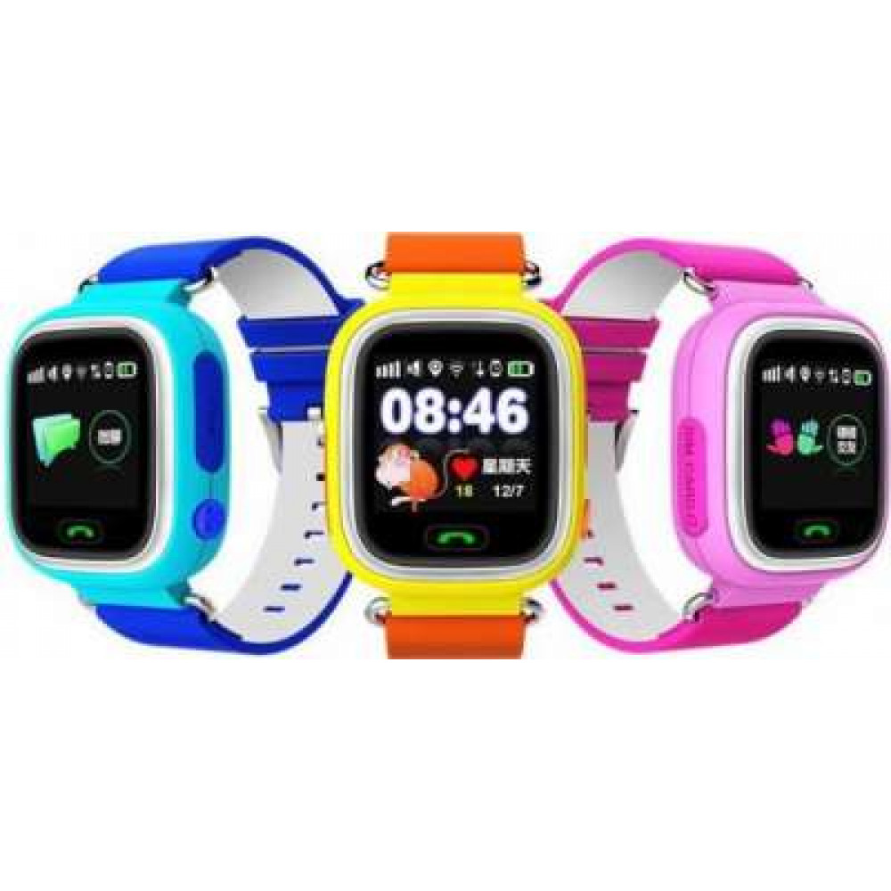 Bērnu pulkstenis Kids Tracker ar GPS trekeri Smart Baby Watch Q90
