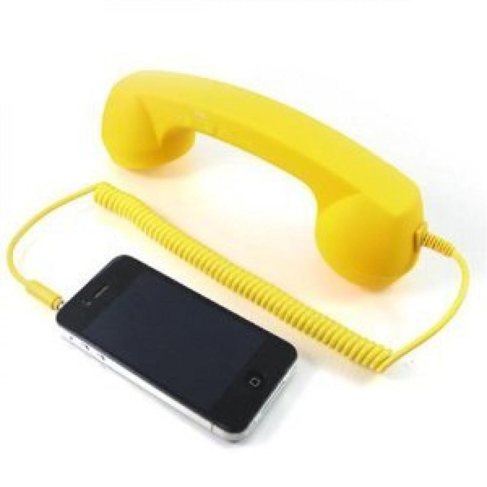Retro phone handset