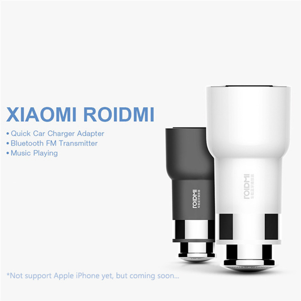 xiaomi roidmi v 2 bluetooth handfree system with FM modulator