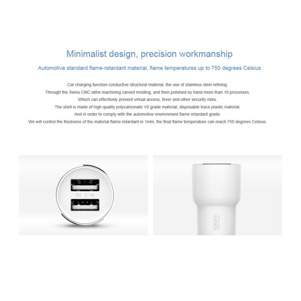 xiaomi roidmi v 2 bluetooth handfree system with FM modulator
