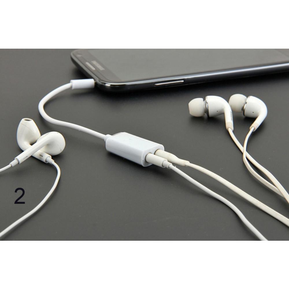 Audio splitter 3.5 mm