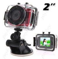 2 collu HD ūdensizturīgā videokamera Sports Action Camcorder