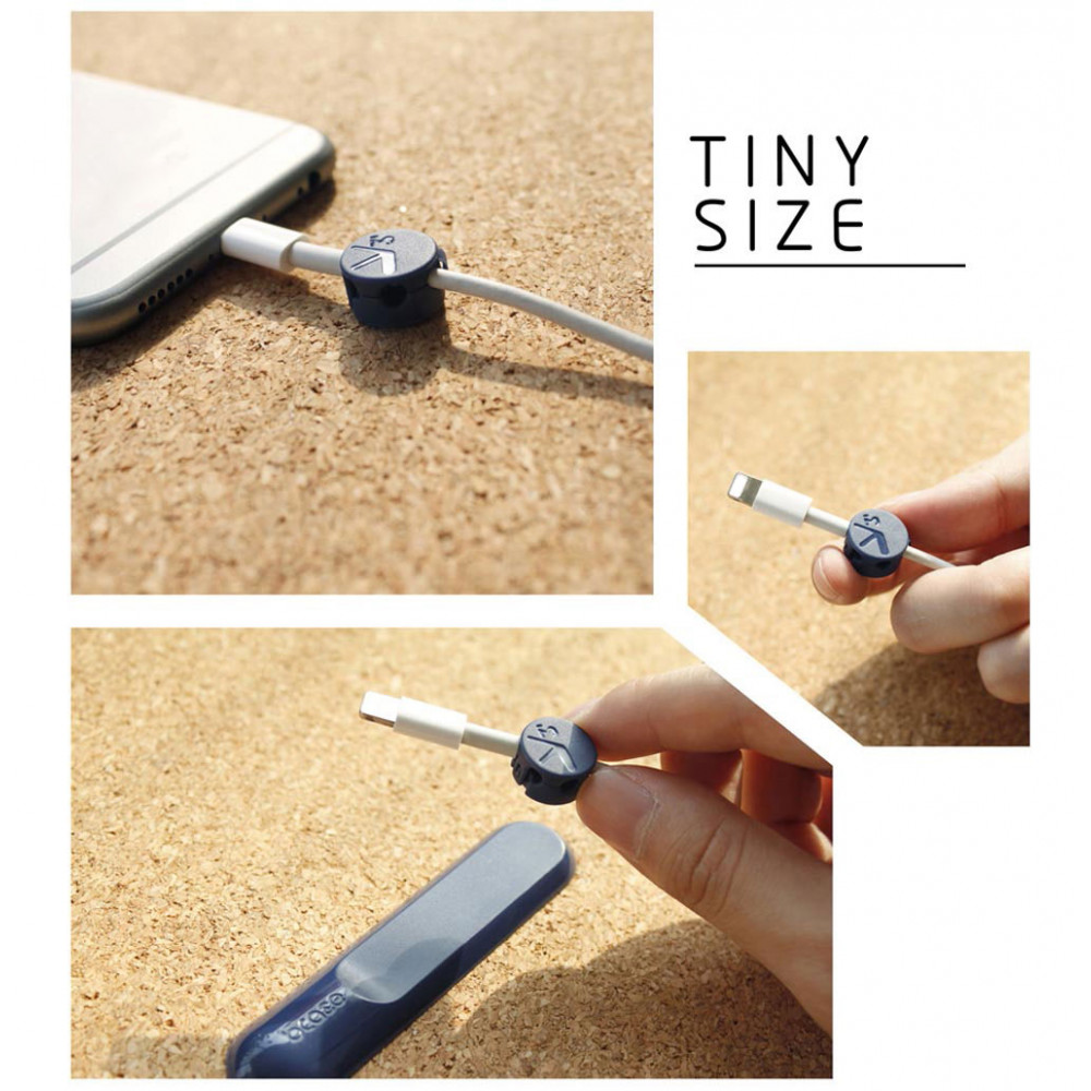 Magnetic USB-cable holder