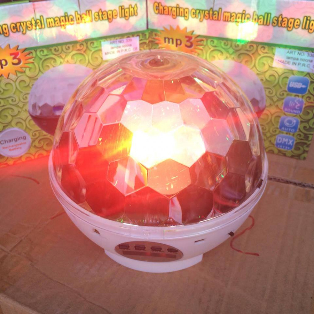Charging crystal magic ball stage