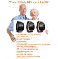 Smart Watch Elder Tracker EW100S with GPS