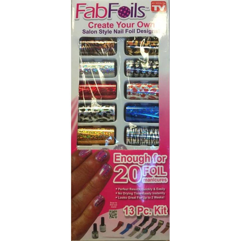 Fab Foil nail design complectFor your health, beauty, sportFab Foil