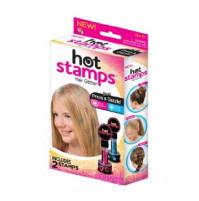 Hot stamps for hair