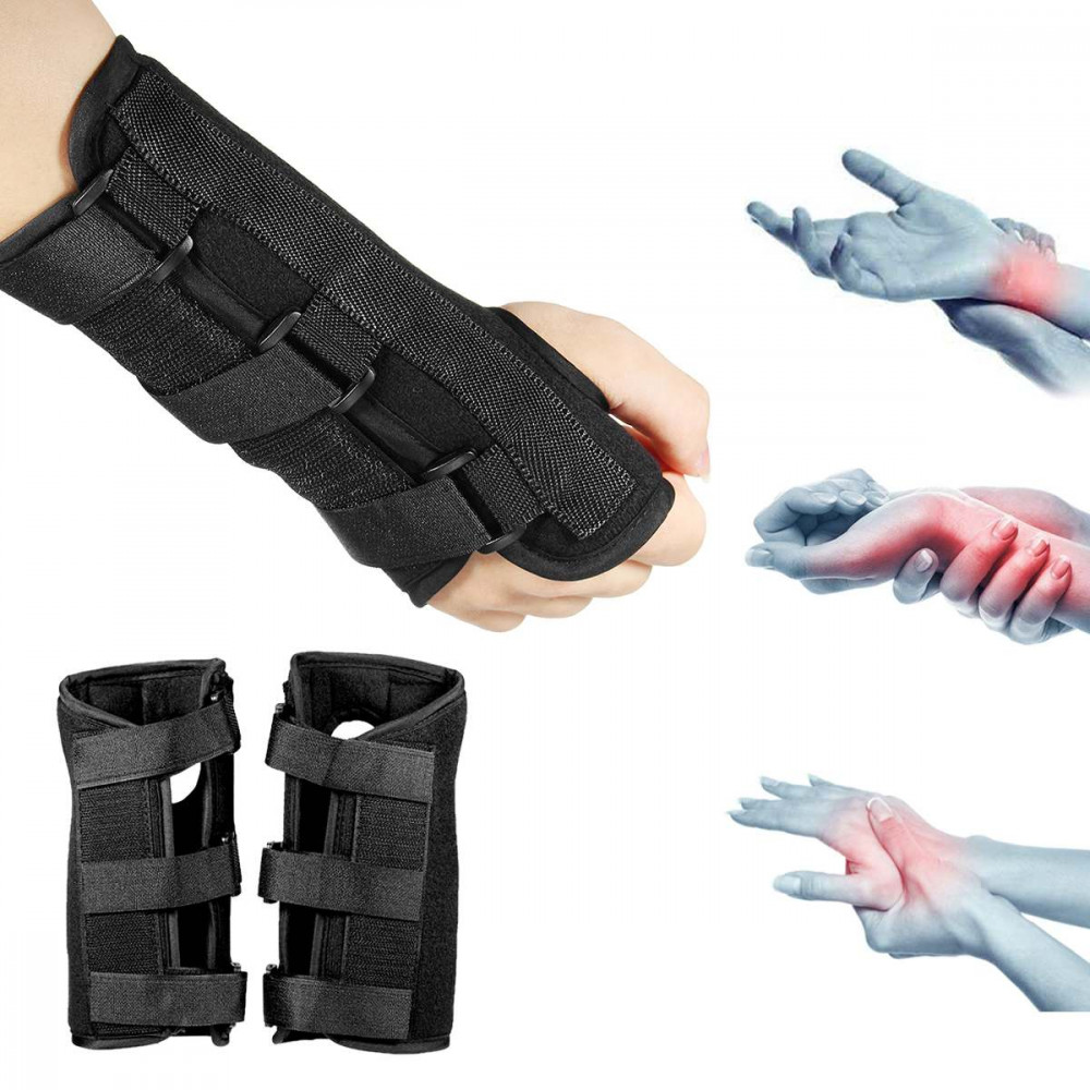 Carpal Tunnel Medical Wrist Support Brace Support Pads Sprain Forearm Splint for Band Strap Protector Safe Wrist Support