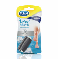 Diamond Crysal maināmie ruļļi priekš Scholl Velvet Smooth