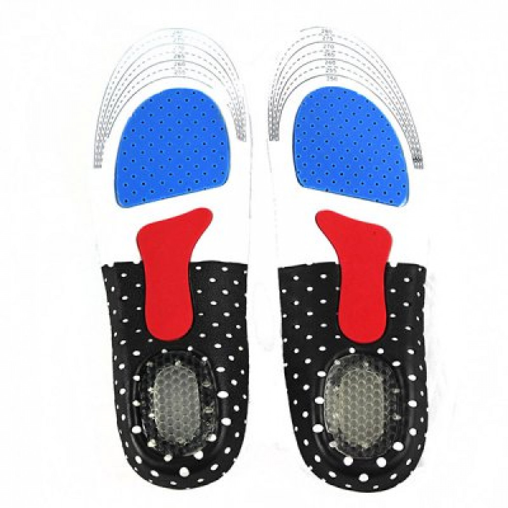 1 Pair 34 - 46 Deodorant Insoles Shoe Pads for Sport Running