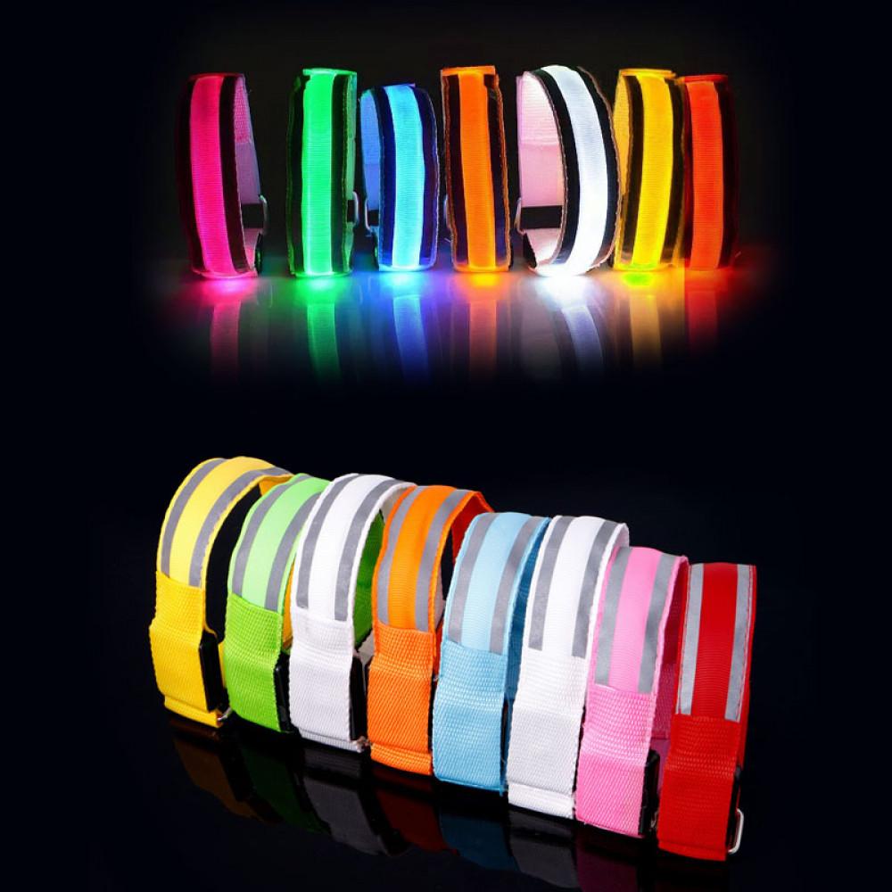 Neilona LED aproce rokai vai kājai nakts staigāšanai vai skriešanai