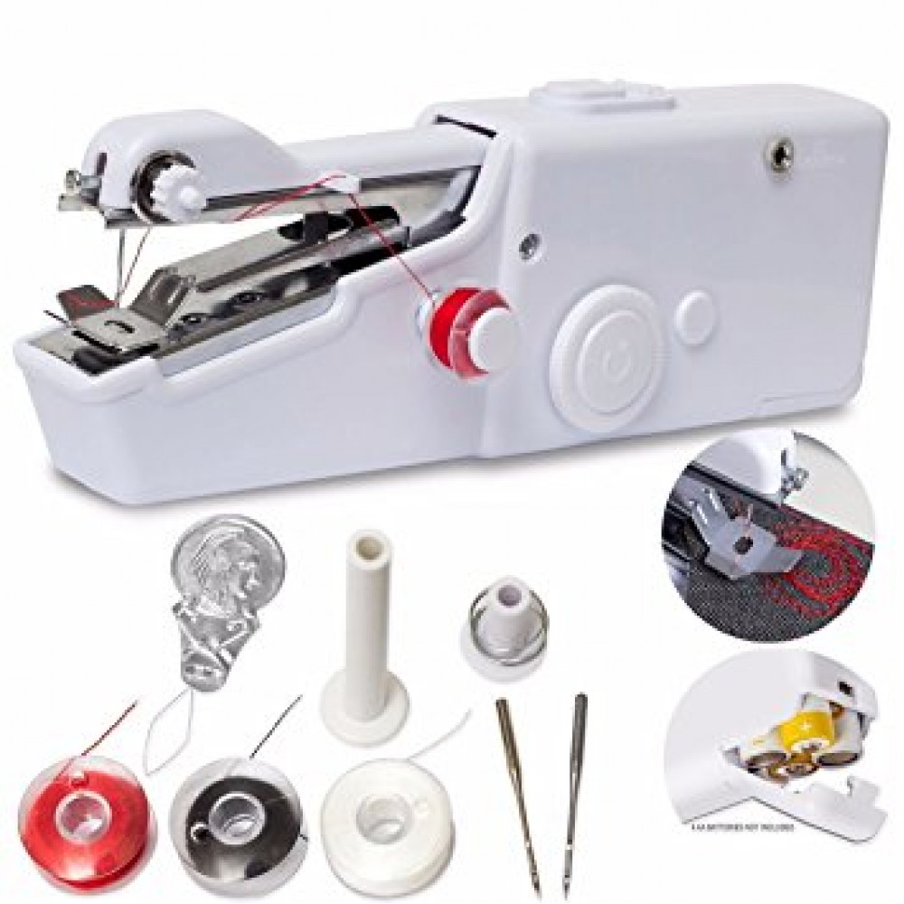 Compact Battery Sewing Machine