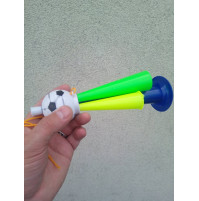 Locomotion 3 tube Fan tube air horn, Football Soccer Pipe, Hunter horn