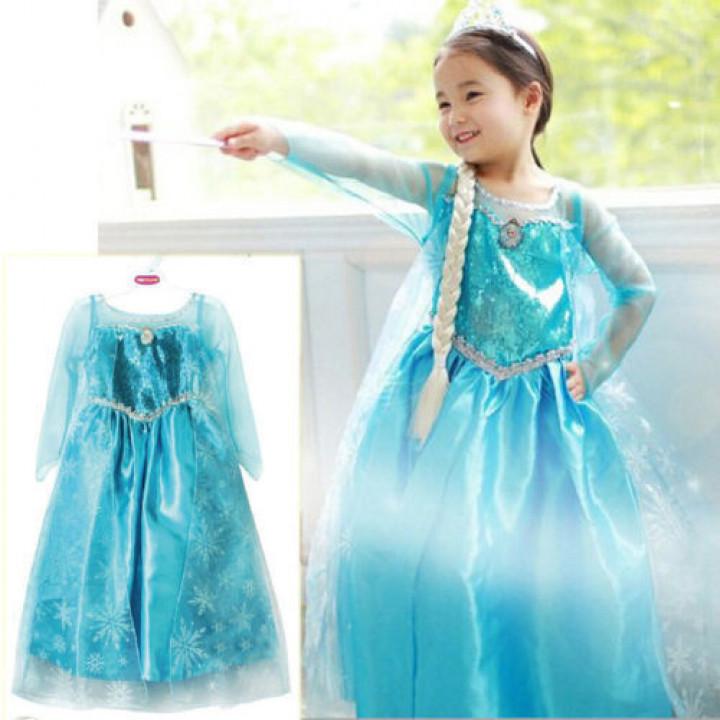 Elsa's from Frozen Heart dress
